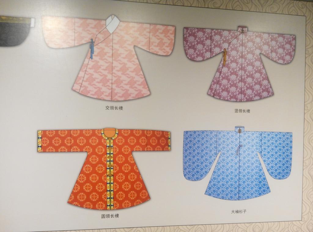 明朝服装 : 不同裁剪的领子及袖口图片
