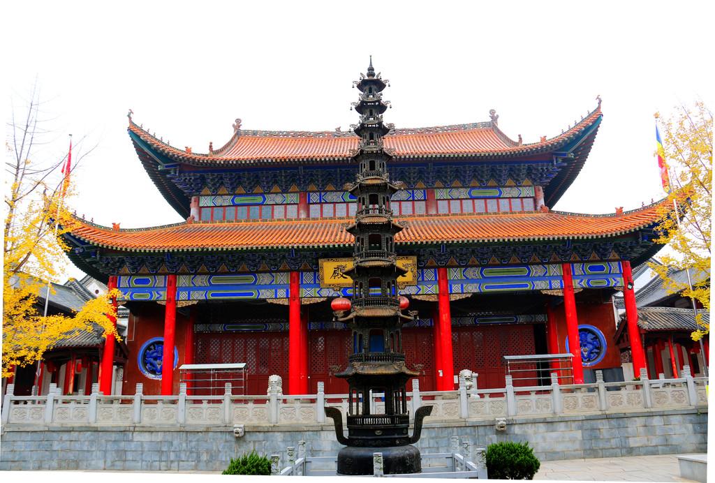 灵气盈溢的武汉景德寺