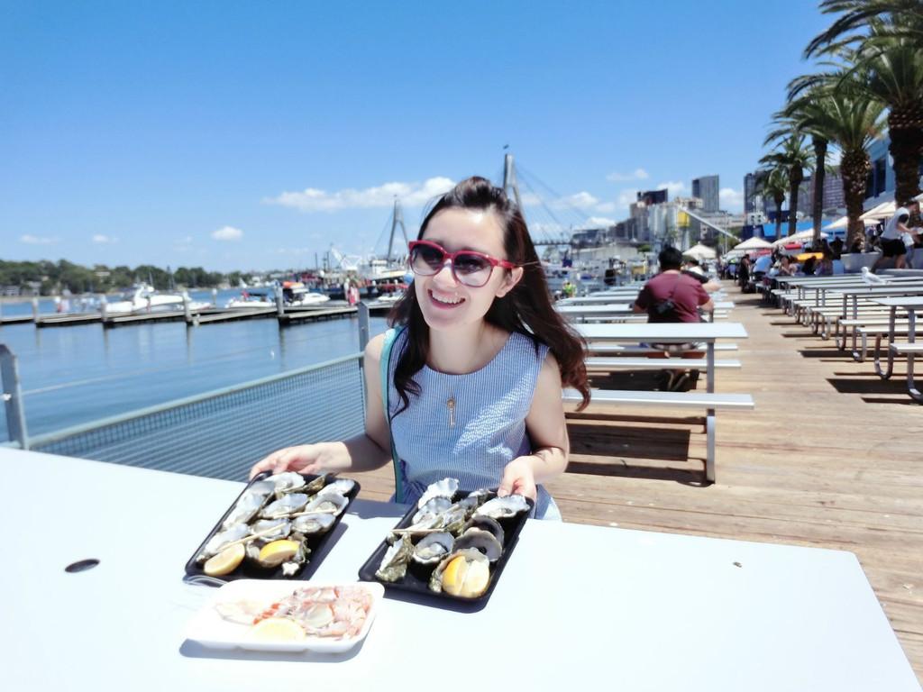 fish market绝对是吃海鲜的圣地,在悉尼的这些天,我们前后总共去了三